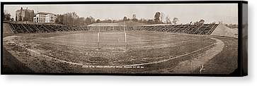Stadium, Of The Catholic University Canvas Print by Fred Schutz Collection