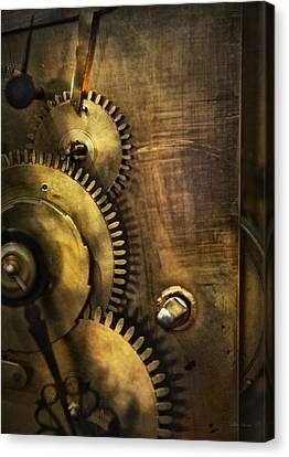 Steampunk - Toothy  Canvas Print by Mike Savad
