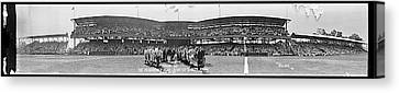 Washington Baseball Team, Johnson Jate Canvas Print by Fred Schutz Collection