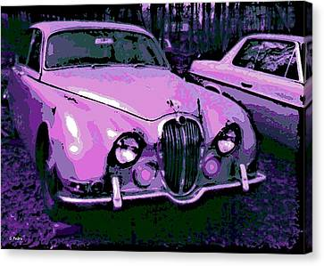 Classic In Pink Canvas Print by George Pedro