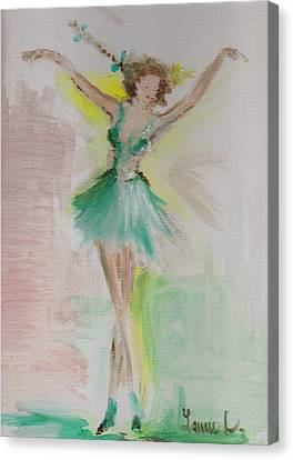Dance Canvas Print by Laurie L