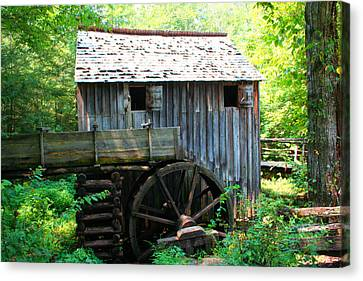 The Grist Mill Canvas Print by Barry Jones