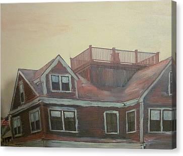 Widows Watch Canvas Print by David Poyant