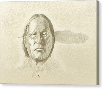 Left Hand Canvas Print by Robert Martinez