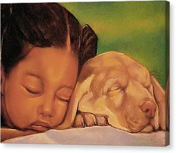 Sleeping Beauties Canvas Print by Curtis James