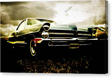 1965 Pontiac Bonneville Canvas Print by Phil 'motography' Clark