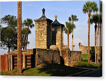 The Old City Gates Canvas Print by David Lee Thompson