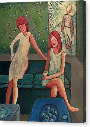 Three Women Canvas Print by Clarence Major