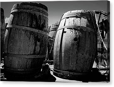 Napa Valley And Vineyards Canvas Print - Reynolds Family Winery by Jeff Wilson