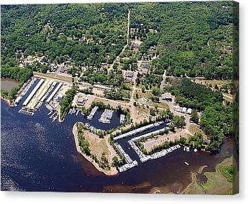 Canvas Print featuring the photograph A-005 Afton Minnesota Harbors by Bill Lang