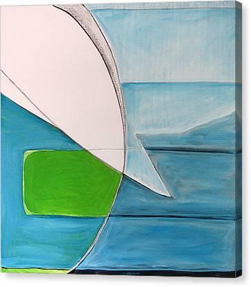 A Jar Canvas Print by Carol Reed