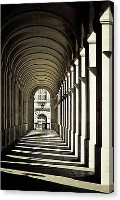 Arches Of Grand Theatre Canvas Print by Mickaël.G
