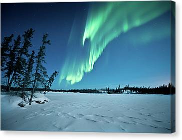 Aurora Borealis Canvas Print by Michael Ericsson