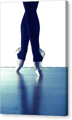 Ballet Feet 1 Canvas Print by Scott Sawyer