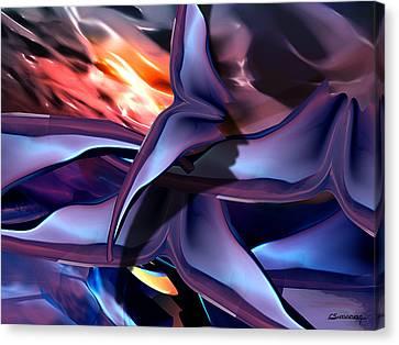 Bats Canvas Print by Christian Simonian