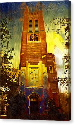 Beaumont Tower  Canvas Print by Paul Bartoszek