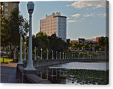 Beautiful Downtown Lakeland Canvas Print