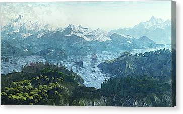 Beautiful Nature Canvas Print by Jutta Maria Pusl