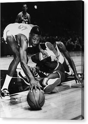 Bill Russell (1934- ) Canvas Print