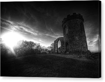Bradgate Park At Dusk Canvas Print