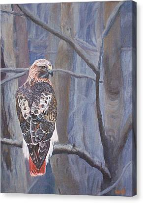 Can't See The Forest For The Trees Canvas Print by Bill Werle