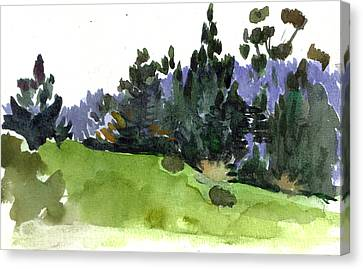 Carmel  California Canvas Print by Marianne  Gargour