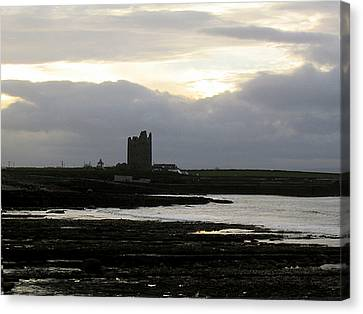 Castle At Easki Canvas Print by Amy Williams