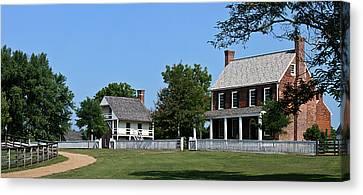 Clover Hill Tavern Appomattox Court House Virginia Canvas Print by Teresa Mucha