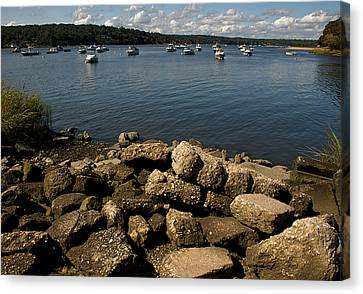 Cold Spring Harbor Canvas Print by Steven Richman