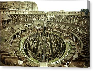 Colosseum Canvas Print by Emanuel Tanjala