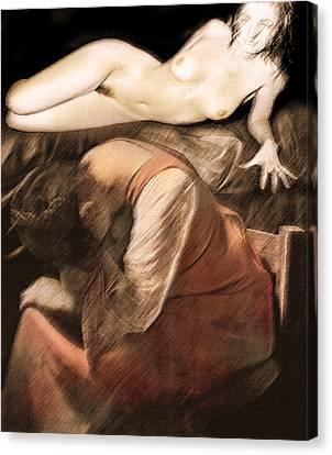 Canvas Print featuring the photograph Danse De La Memoire by Sandro Rossi