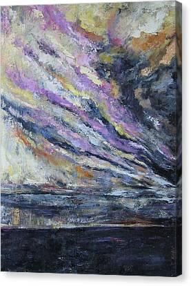Dispelling Storm Canvas Print by Debora Cardaci