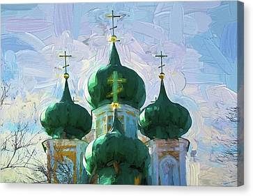 Domes Canvas Print by Alexey Bazhan