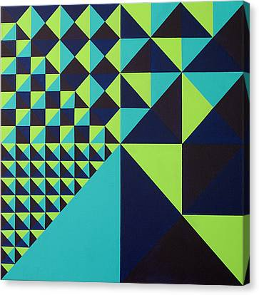 Domino Theory Canvas Print