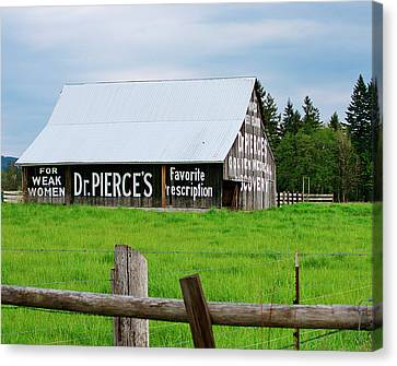 Dr Pierce' Barn 110514.109c1 Canvas Print