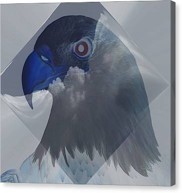 Dreaming In Eagle Vision Canvas Print by Kevin Caudill