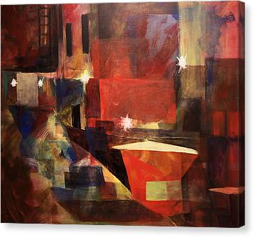 Dumpster - Sold Canvas Print by Stephen Roberson