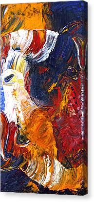 Canvas Print featuring the painting Embraced by Jennifer Godshalk
