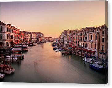 Evening Glow Canvas Print