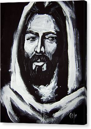 Face Of Christ Ccsa Canvas Print