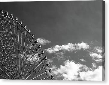 Ferris Wheel Canvas Print by Kiyoshi Noguchi
