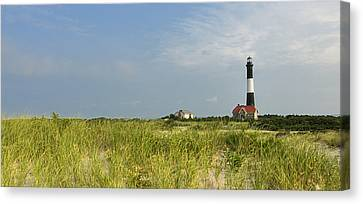 Fire Island Lighthouse Canvas Print by Vicki Jauron