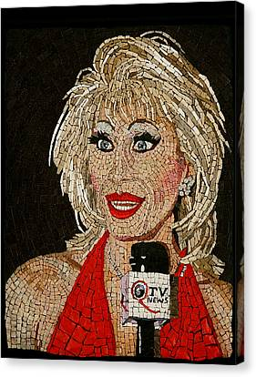 First Lady Donna Sachet Canvas Print