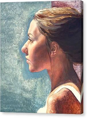 Fresh Pose Canvas Print by Deborah Allison