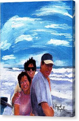 Friendship Canvas Print by David Poyant