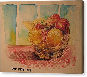 Fruitbasket Canvas Print