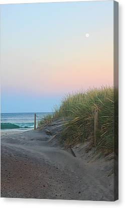 Full Moon Wave Canvas Print by Todd Breitling