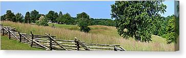 Going To Appomattox Court House Canvas Print by Teresa Mucha
