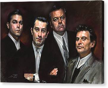 Goodfellas Canvas Print by Ylli Haruni