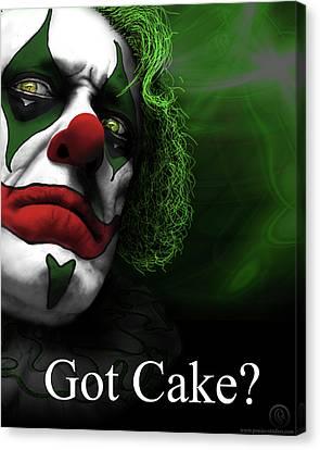 Got Cake Canvas Print by Jeremy Martinson